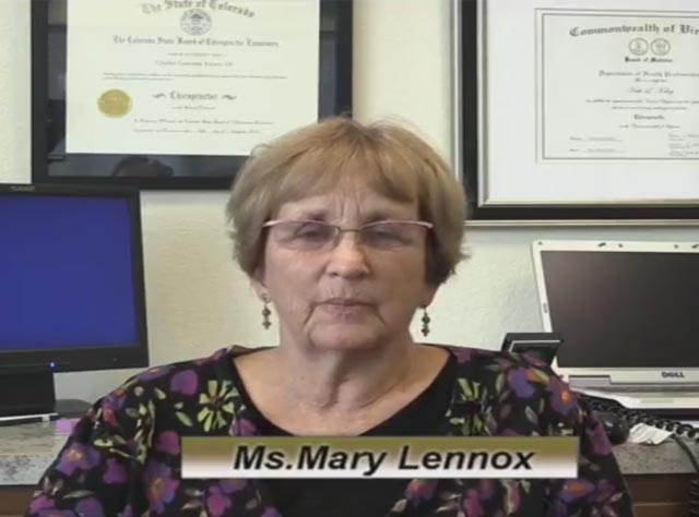 Ms. Mary Lennox Testimonial